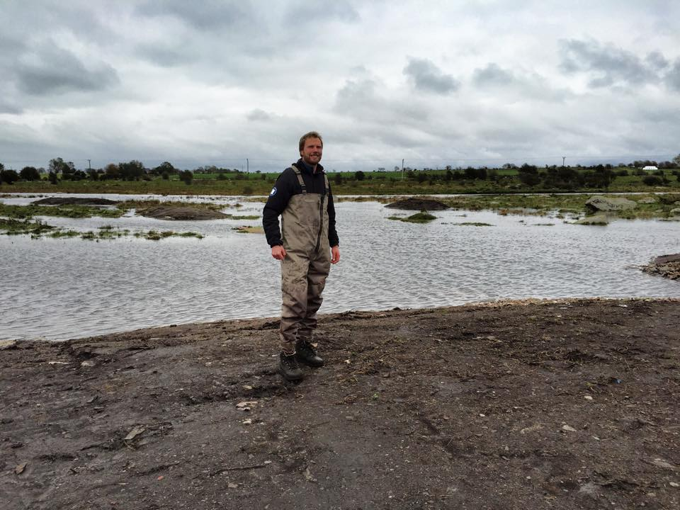 okt 2014: parboäng våtmark är färdig