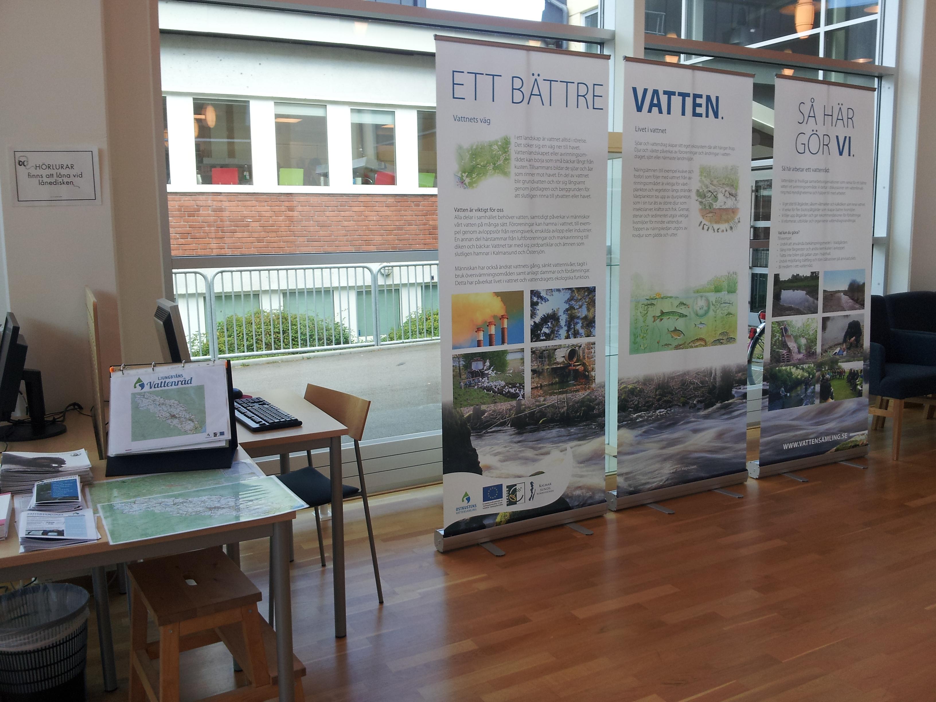 utställning om vattenråd